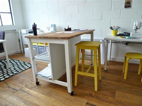 kitchen cutting table cutting table on casters stenstorp kitchen island ikea