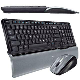 Keyboard Wireless Desktop Logitech Mk250 logitech wireless keyboard mouse combo ebay