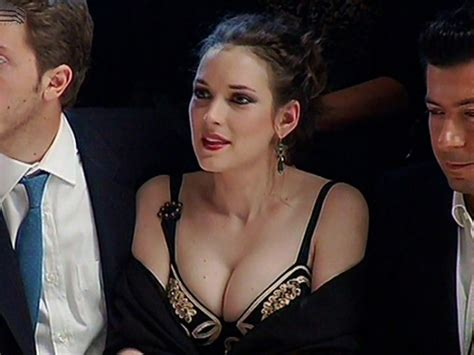 Winona Is Back And So Is Cleavage by 1000 Images About Winona On