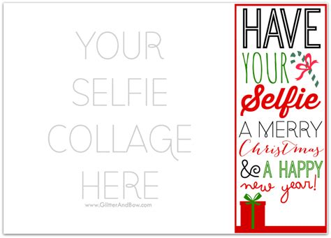 diy card template free diy printable selfie card a free template