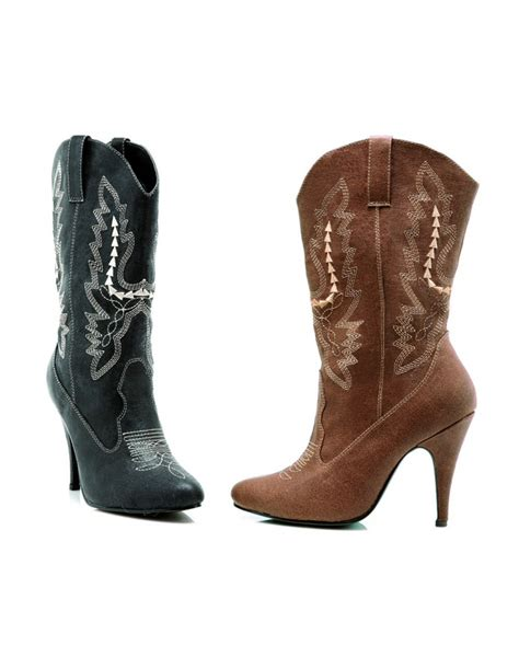 cowboy high heel boots cowboy boots high heel pumps costume shoes