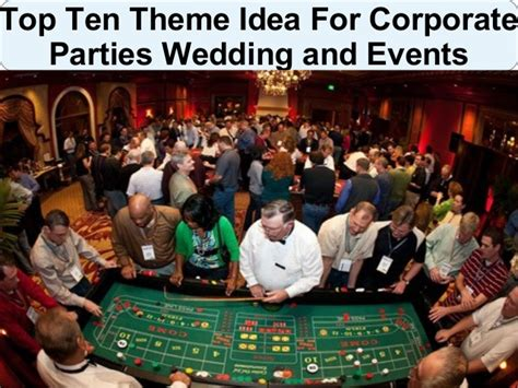 best themed events theme party ideas for corporate parties weddings and events