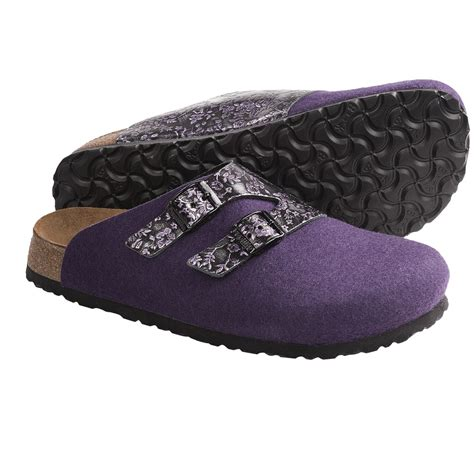 wool clogs for papillio by birkenstock graz clogs wool leather for