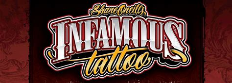 infamous tattoos artist picture galleries infamous company