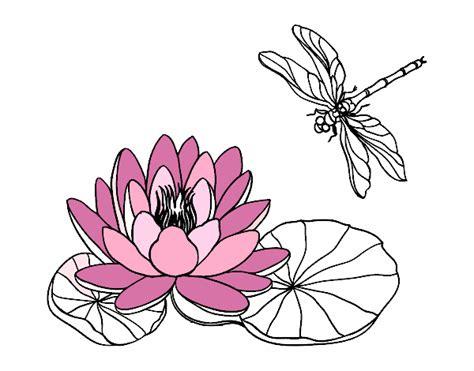 fior di loto disegno disegno fiore di loto colorato da utente non registrato il