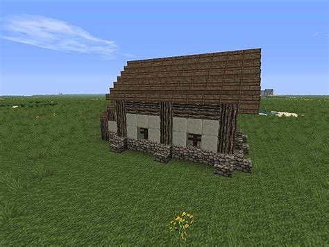 small midevil style cabin minecraft project