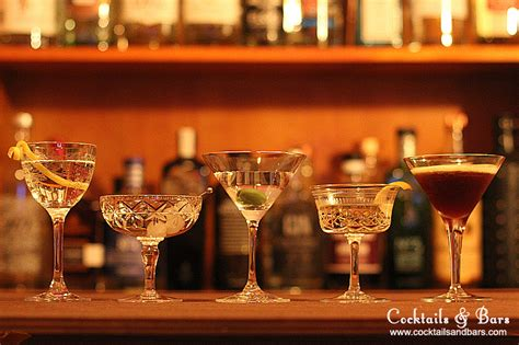 Top 5 Bar Drinks by Top 5 Martini Recipes Cocktails Bars