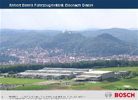 Bosch Bewerbung Duales Studium Robert Bosch Fahrzeugelektrik Eisenach Gmbh