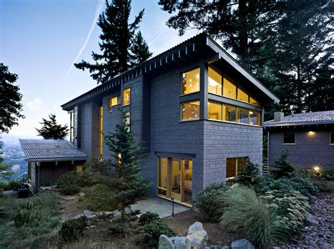Cost Of Building A Covered Patio Magnificent Cinder Blocks Vogue Portland Contemporary