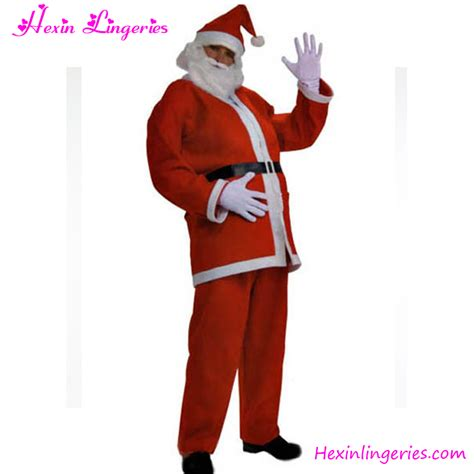 wholesale cheap santa claus costume man christmas costume
