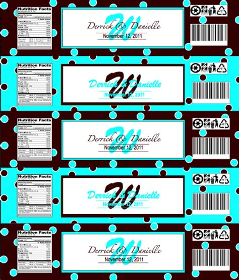printable olof water bottle labels party invitations ideas