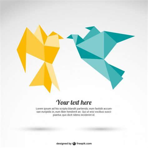Origami Paper Birds -