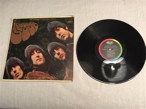 capitol rubber st popsike 1965 beatles rubber soul lp record album