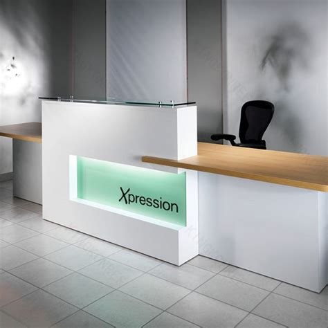 corian company office solid surface furniture company front desk buy