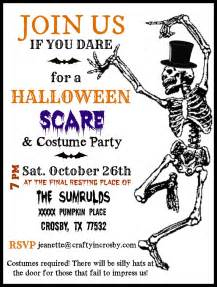 halloween invitations free templates crafty in crosby halloween party invitations with template