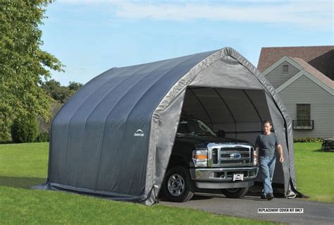 Car Shelter Cover Shelterlogic Replacement Cover 13x20x12 90530 802337 For