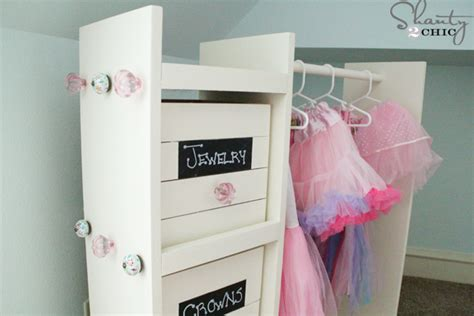 Storage Ideas For Small Bedroom Closets free woodworking plans diy dress up cart shanty 2 chic