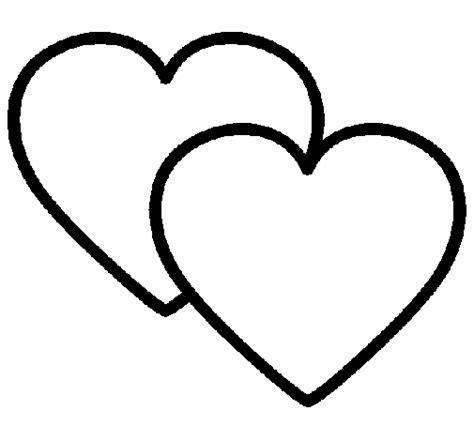 Imagenes De Corazones Unidos Para Colorear | corazones para colorear