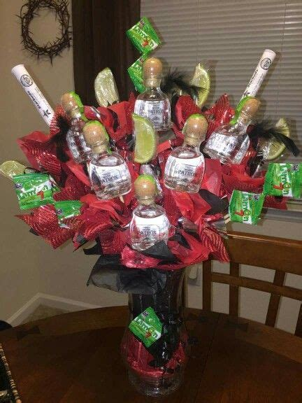 christmas booze gifts bouquet gifts cocktail recipes gift liquor bouquet and birthdays