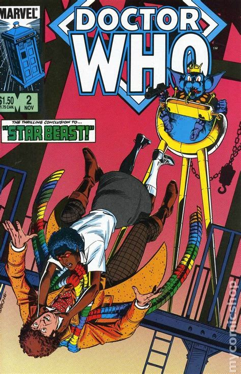 Dr Marvell doctor who 1984 marvel comic books