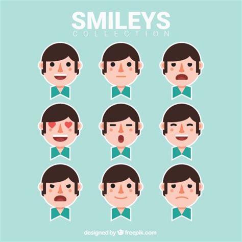 Smiley Sticker Free Download by Children Smileys Sticker Collection Vector Free Download