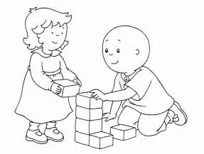 printable caillou coloring pages coloring