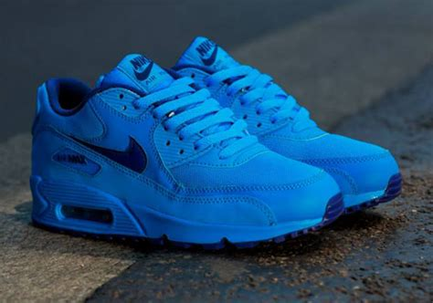 Nike Airmax Blue nike air max 90 gs photo blue royal blue