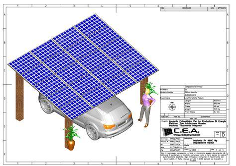 gazebo fotovoltaico c e a progettazione e schemi elettrici per quadri di