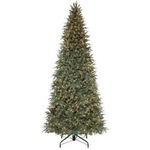 10 ft pre lit meadow fir quick set artificial christmas