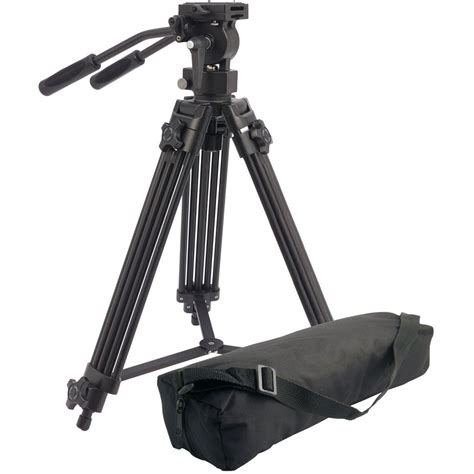 Tripod Professional Camlink Professional Tripod With Fluid Tpvideo01 With Bag 5037461902067 Ebay