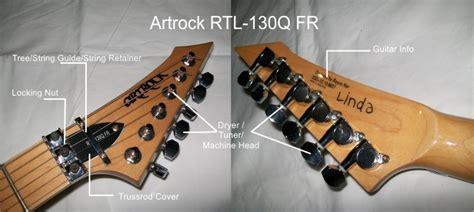 Penyangga Senar Gitar bedah gitar headstock 171 musik or id