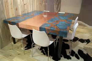 Copper Kitchen Tables Copper Kitchen Table By Dchi Homerefurbers Home