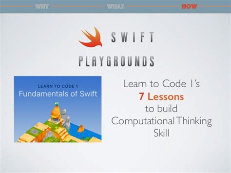 pattern recognition bbc bitesize building computational thinking skill with swift playgrounds