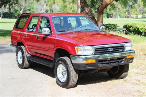 Toyota Suv For Sale One Owner 1992 Toyota 4runner Sr5 4x4 Suv For Sale
