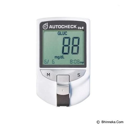 Jual Alat Tes Gula Darah Jogja jual alat ukur kadar gula autocheck alat tes darah gcu 3