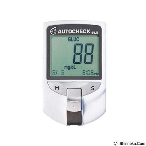 Alat Tes Gula Darah 3 In 1 jual alat ukur kadar gula autocheck alat tes darah gcu 3 in 1 merchant kenali gejala