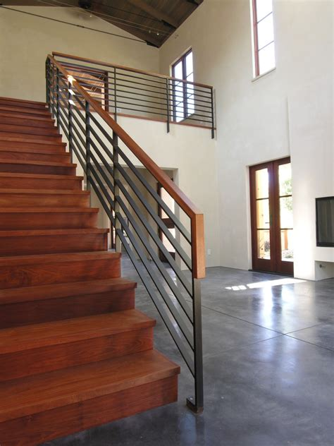 staircase banister ideas stair railing ideas staircase modern with open stair chest