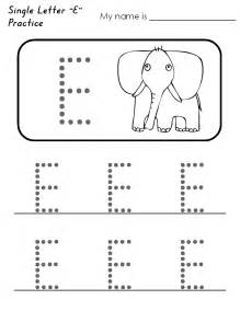 color without the letter e letter e tracing worksheets preschool abitlikethis