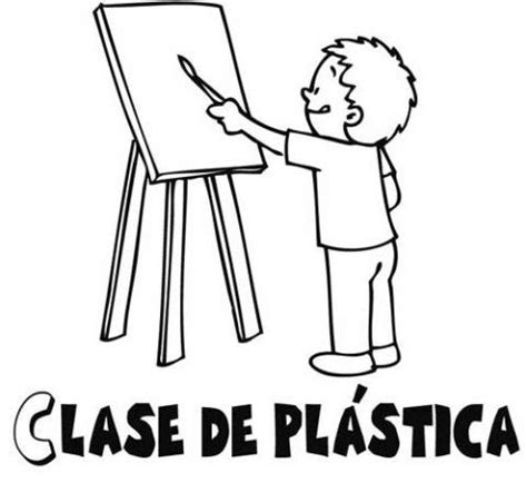 imagenes para dibujar un cuadro dibujos para colorear de un ni 241 o pintando un cuadro