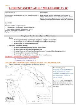libro 8 lecons dhistoire economique histoire 6 232 me partie 1 l orient ancien le 231 on 1 la naissance des