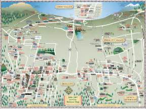 prescott tourist map prescott arizona mappery