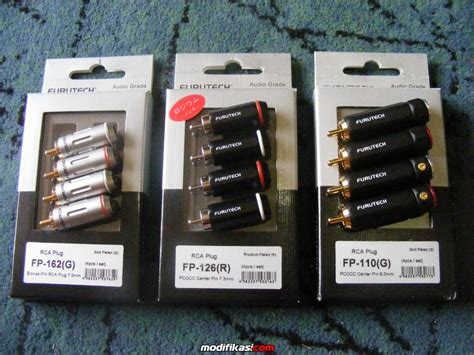 Harga Connector Rca baru bnib furutech connectors rca plugs banana plugs