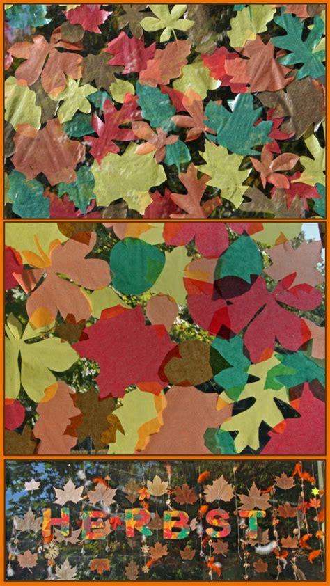 Herbst Fenster Gestalten by Mit Herbstbl 228 Ttern Ein Fenster Gestalten Medienwerkstatt