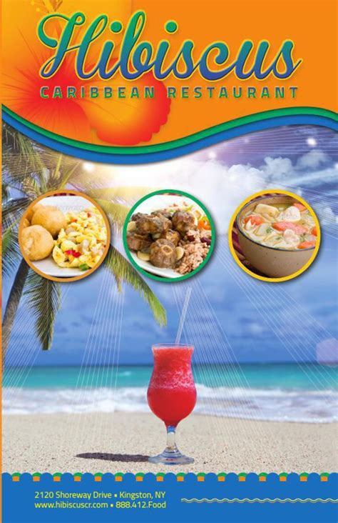 Flipsnack Church Anniversary By Michael Taylor Free Caribbean Menu Template