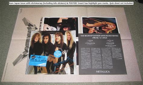 metallica the 5 98 ep garage days re revisited records