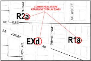 overlay zones zoning information the city of portland