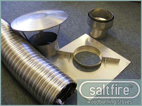 Chimney Liner Kit - flexi chimney liner kit 6 quot 6 quot flue liner woodburning