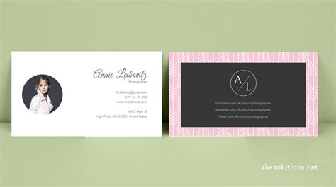 Business Card Template Jpg by Premade Business Card Template Name Card Template
