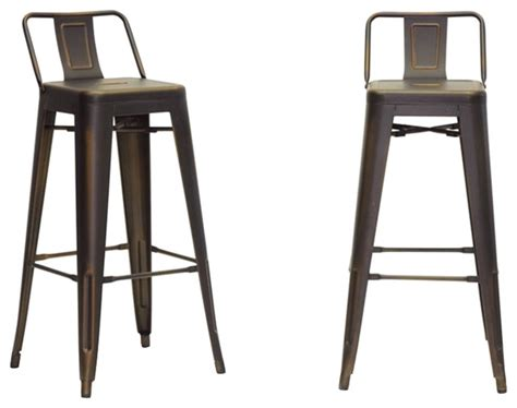 french industrial bar stools french industrial modern bar stools antique copper set
