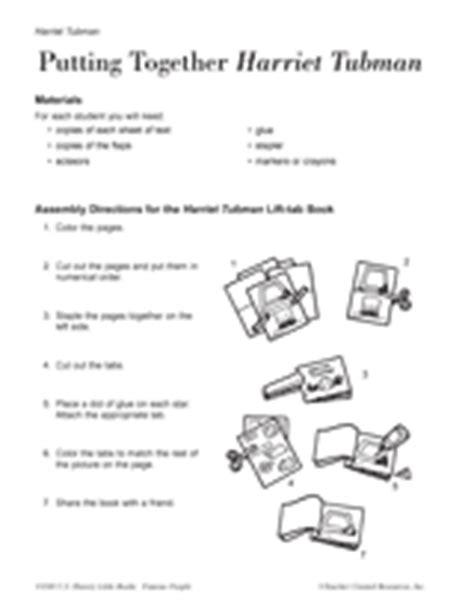 harriet tubman biography 3rd grade new 398 first grade worksheets on harriet tubman